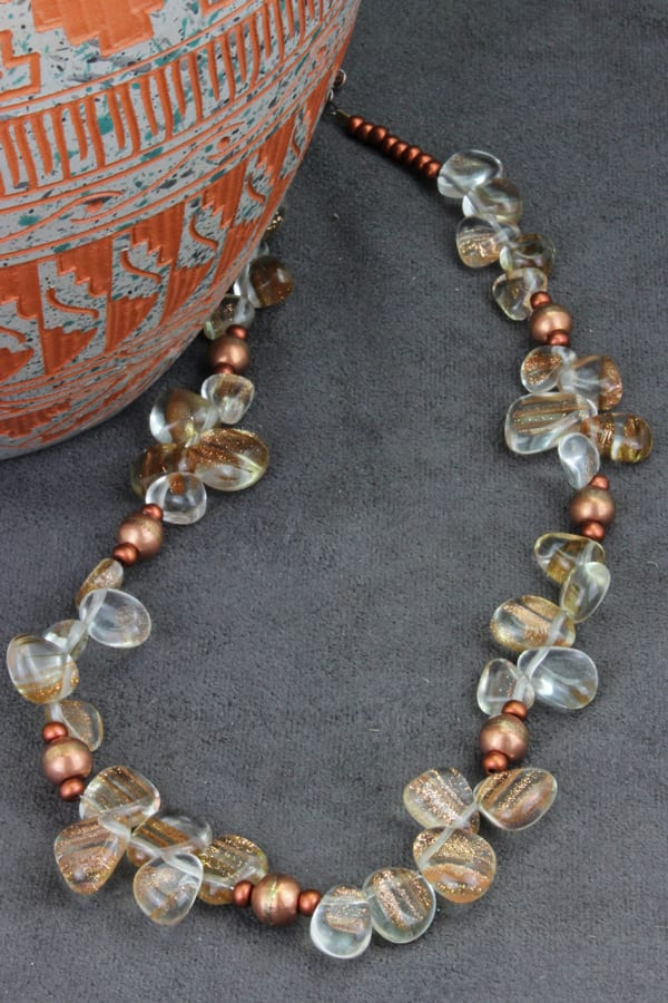 brass with pewter and necklace turtles goldstone antique
