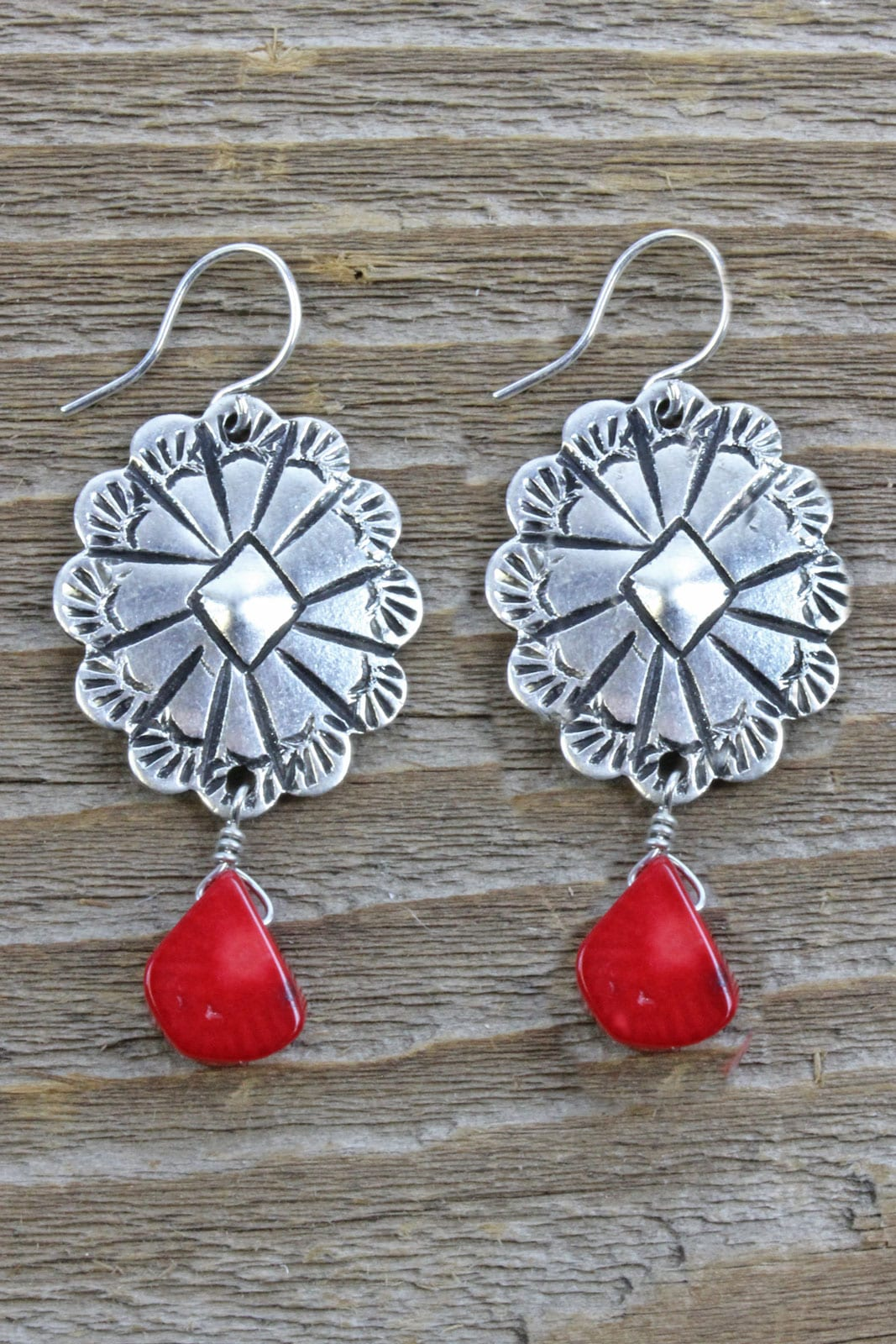 Circle Of Nations- Handcrafted Western Inspired Earrings